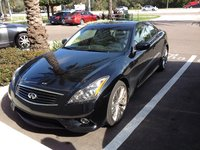 2013 Infiniti G37 Sport Coupe, G37S 6MT, exterior