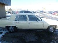 Picture of 1987 Cadillac Fleetwood D'elegance Sedan, exterior