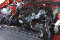 Picture of 1992 Volvo 740 4 Dr Turbo Wagon, engine