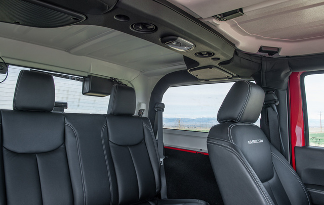Picture of 2015 Jeep Wrangler Rubicon Hard Rock, interior, gallery_worthy