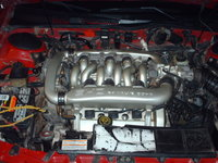 1992 Ford Taurus SHO, Yamaha-built DOHC 24 Valve V-6, engine