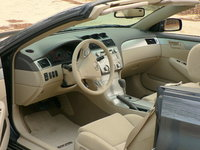 Picture of 2008 Toyota Camry Solara SE Convertible, interior