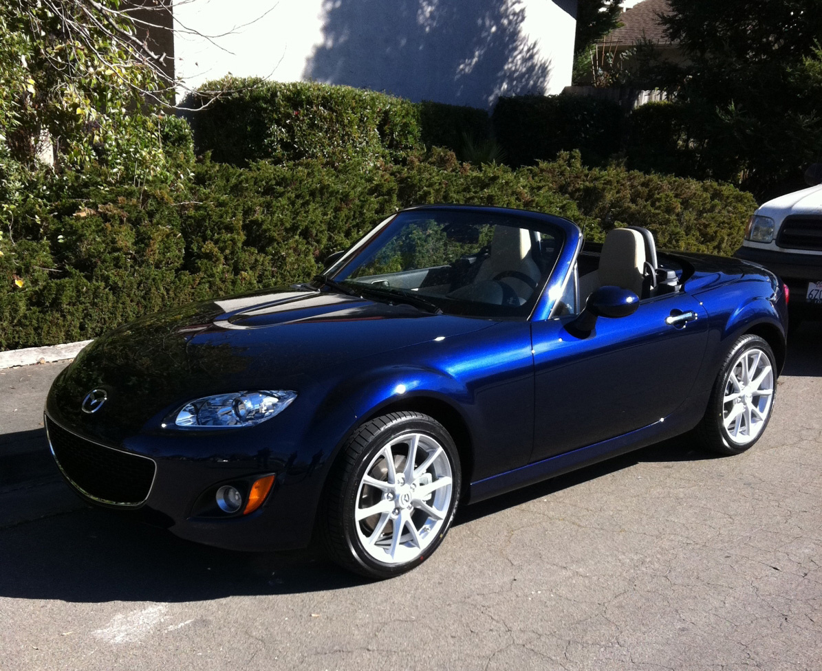 Mazda MX-5 Miata Questions - Looking for a blue hard top ...