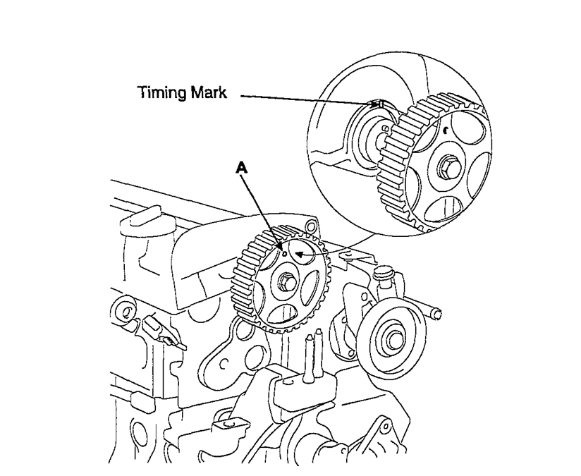Kia Sportage Timing Mark Diagram