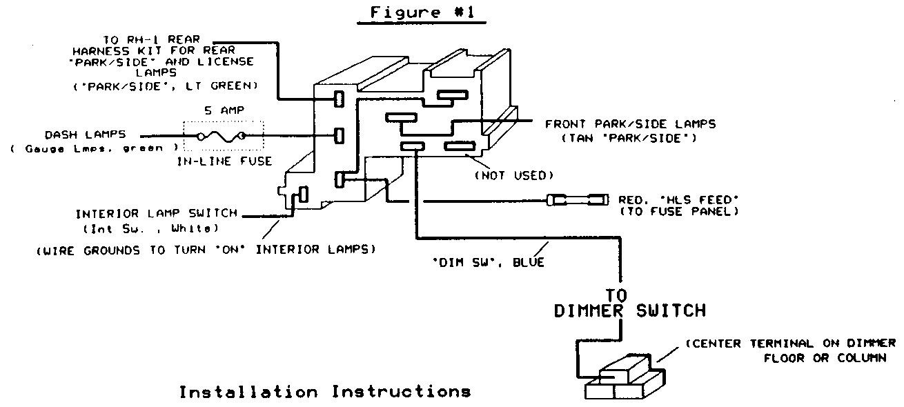 81 chevy fuse box diagram