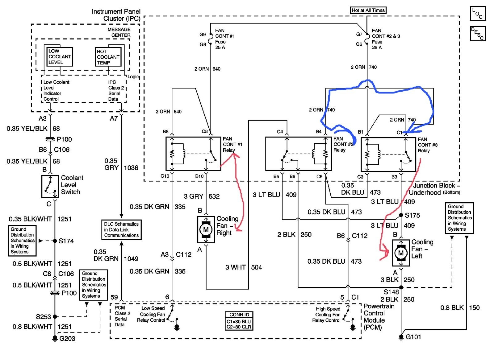 impala fuse box 1 fan wiring diagramchevrolet impala questions location of cooling fan relay carguruslocation of cooling fan relay