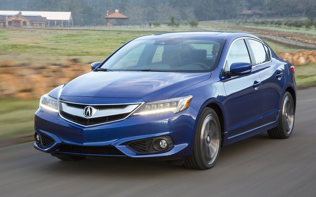 2016 Acura ILX, Front-quarter view, exterior, manufacturer, gallery_worthy