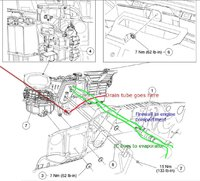 ford f 150 questions where is the ac condensate drain tube located4 people found this helpful 4