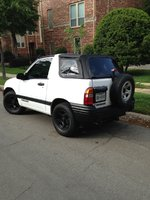 Picture of 2001 Chevrolet Tracker Base Convertible, exterior