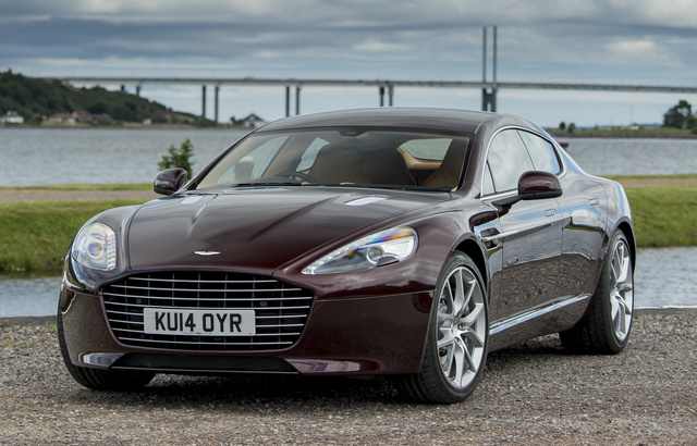 2015 Aston Martin Rapide, Front-quarter view, exterior, manufacturer, gallery_worthy