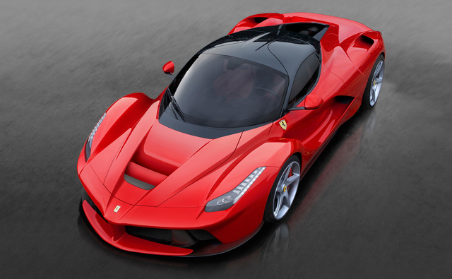 2015 Ferrari LaFerrari, Front-quarter view from above, exterior, manufacturer