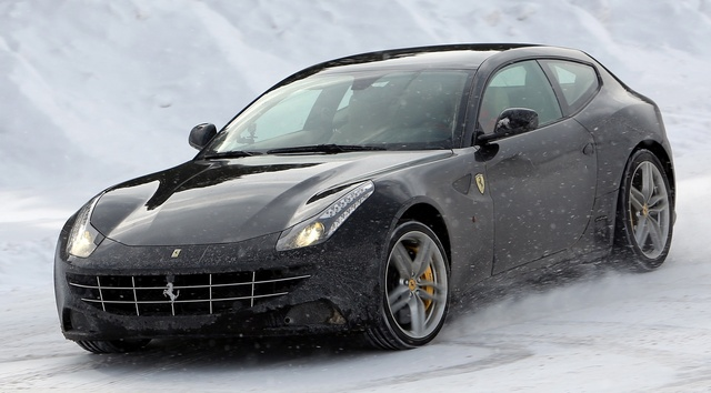 2015 Ferrari FF, Front-quarter view, exterior, manufacturer, gallery_worthy