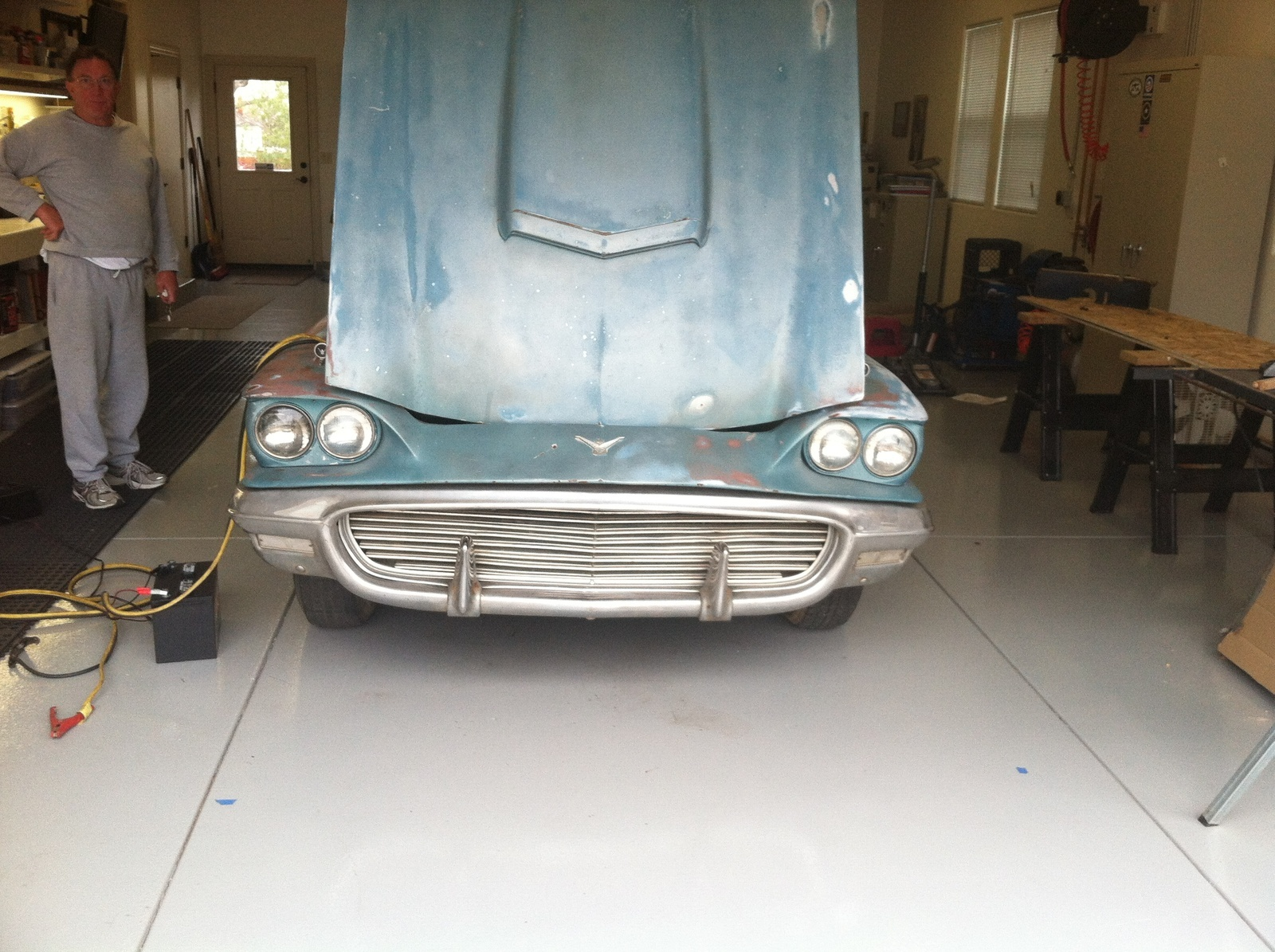 Ford Thunderbird Questions Average Restoration Cost Cargurus Wiring Diagram For 1963 Convertible Top Im Pretty Good With Paint Going To Do That Ill Have A Shop Replace Rusted Panel And The Drivers Seat Needs Be Upholstered