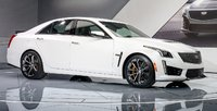 2016 Cadillac CTS-V, Front-quarter view. Copyright General Motors, exterior, manufacturer