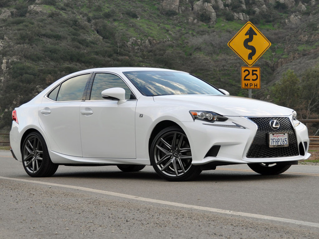 Lexus is f sport 2015
