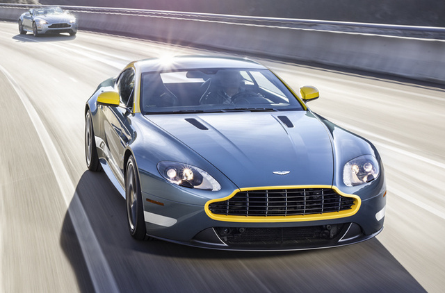 2015 Aston Martin V8 Vantage, Front-quarter view, exterior, manufacturer, gallery_worthy