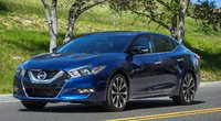2016 Nissan Maxima, Front-quarter view, exterior, manufacturer, gallery_worthy