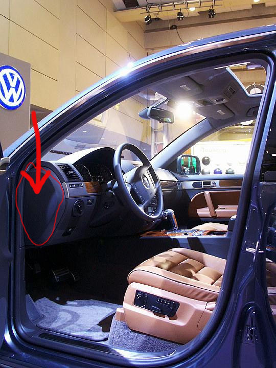 Volkswagen Touareg Questions - Where Is The Light Relay Box Located