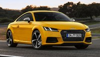 2016 Audi TTS, Front-quarter view of the European model, exterior, manufacturer