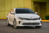 2016 Kia Optima, Front-quarter View, exterior, manufacturer