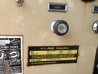 Picture of 1974 Jeep CJ5, interior