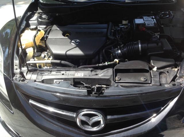 mazda 6 gg остывает двигатель на ходу