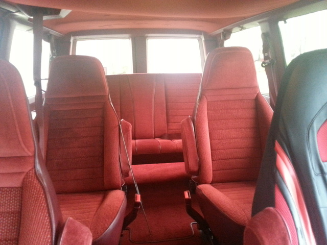 1990 Chevy Conversion Van Interior Decoratingspecialcom
