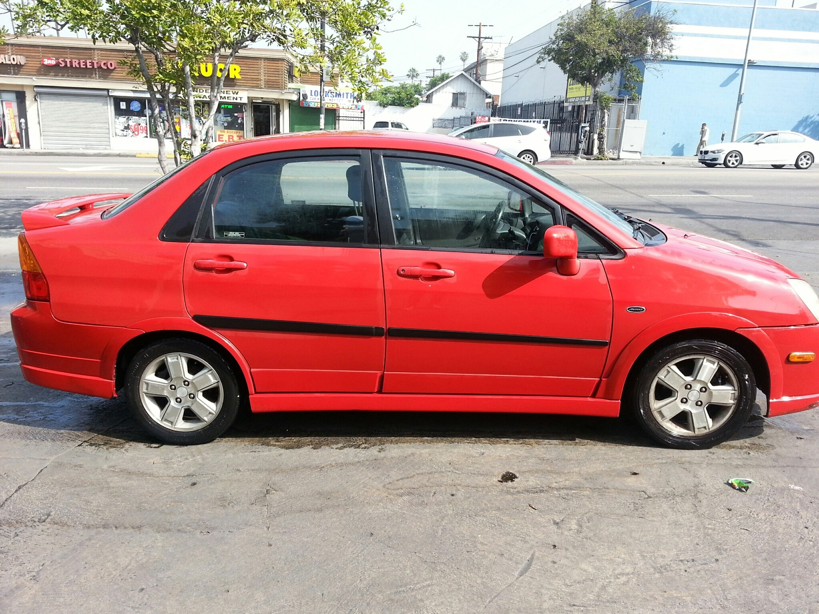 Picture of 2002 Suzuki Aerio 4 Dr GS Sedan