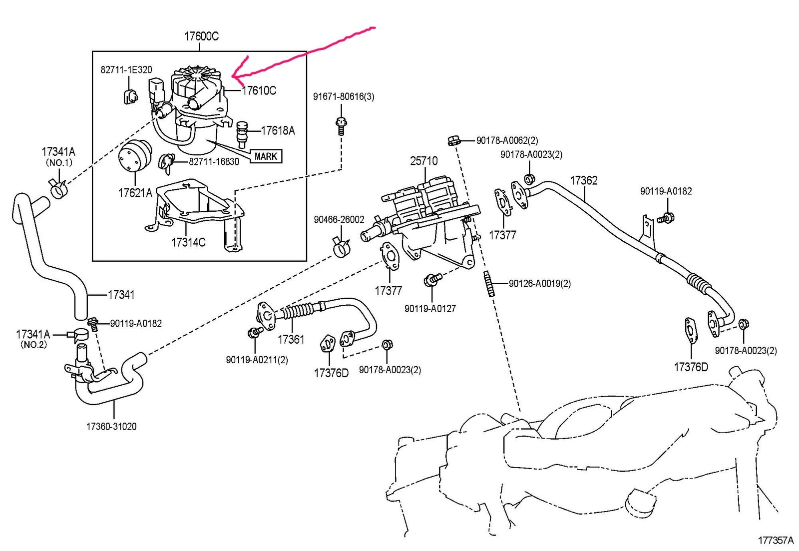 2012 toyota tacoma parts diagram
