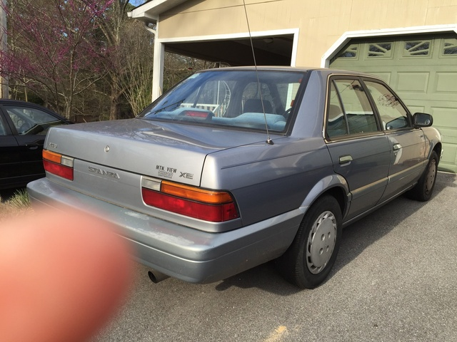 Picture of 1991 Nissan Stanza XE Sedan
