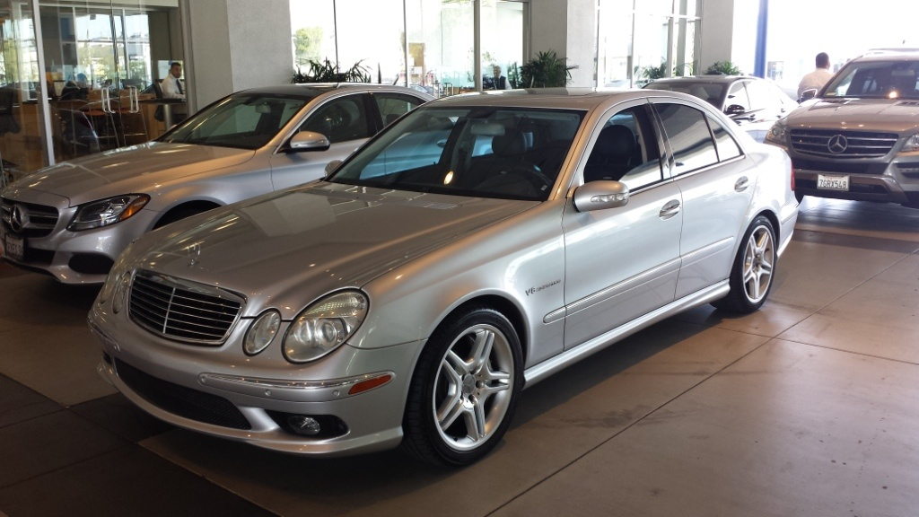 2004 Mercedes Benz E Class E55 Amg For Sale Cargurus