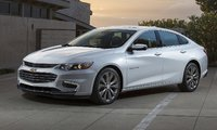 2016 Chevrolet Malibu, Front-quarter view. Copyright General Motors, exterior, manufacturer