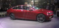 2016 Chevrolet Malibu Hybrid, Profile view at the New York Int'l Auto Show, exterior