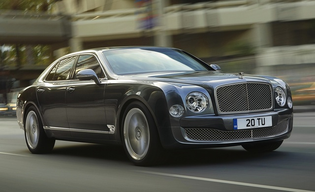 2016 Bentley Mulsanne, Front-quarter view, exterior, manufacturer