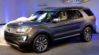 2016 Ford Explorer, Front-quarter view, exterior, manufacturer, gallery_worthy