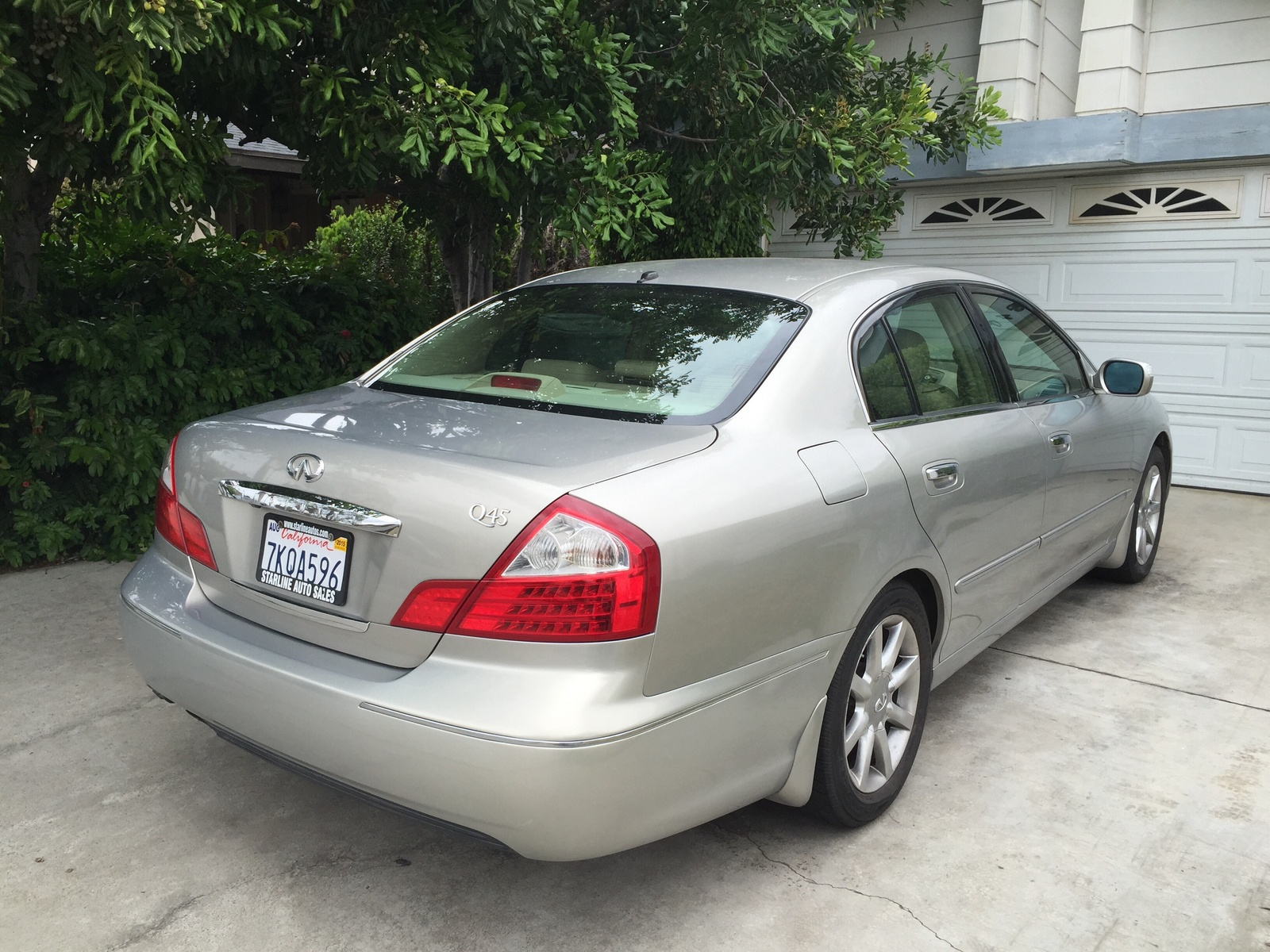 Infiniti Q Dr Std Sedan Pic