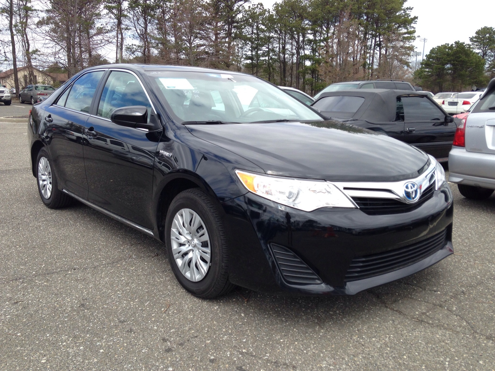picture of 2014 toyota camry hybrid le exterior. Black Bedroom Furniture Sets. Home Design Ideas