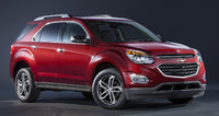2016 Chevrolet Equinox, Front-quarter view. Copyright General Motors, exterior, manufacturer