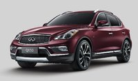 2016 INFINITI QX50, Front-quarter view, exterior, manufacturer, gallery_worthy