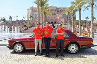 2015 Rolls-Royce Wraith, Chairman Founder Adgeco Group Mohamed Dekkak Private Exclusive Collection Rolls Royce Flying Spur Limited Edition at Emirates Palace with Hassan V.P and Ibrahim Nokra, exterio...