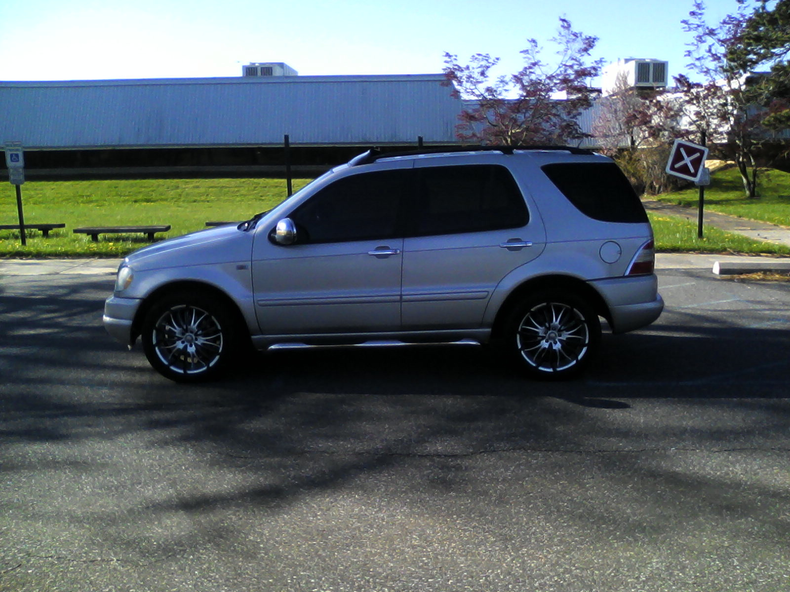 Picture of 2001 mercedes benz m class ml430 exterior for Mercedes benz ml430