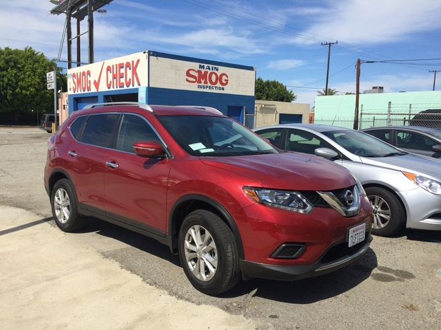 Picture of 2015 Nissan Rogue SV AWD, exterior, gallery_worthy