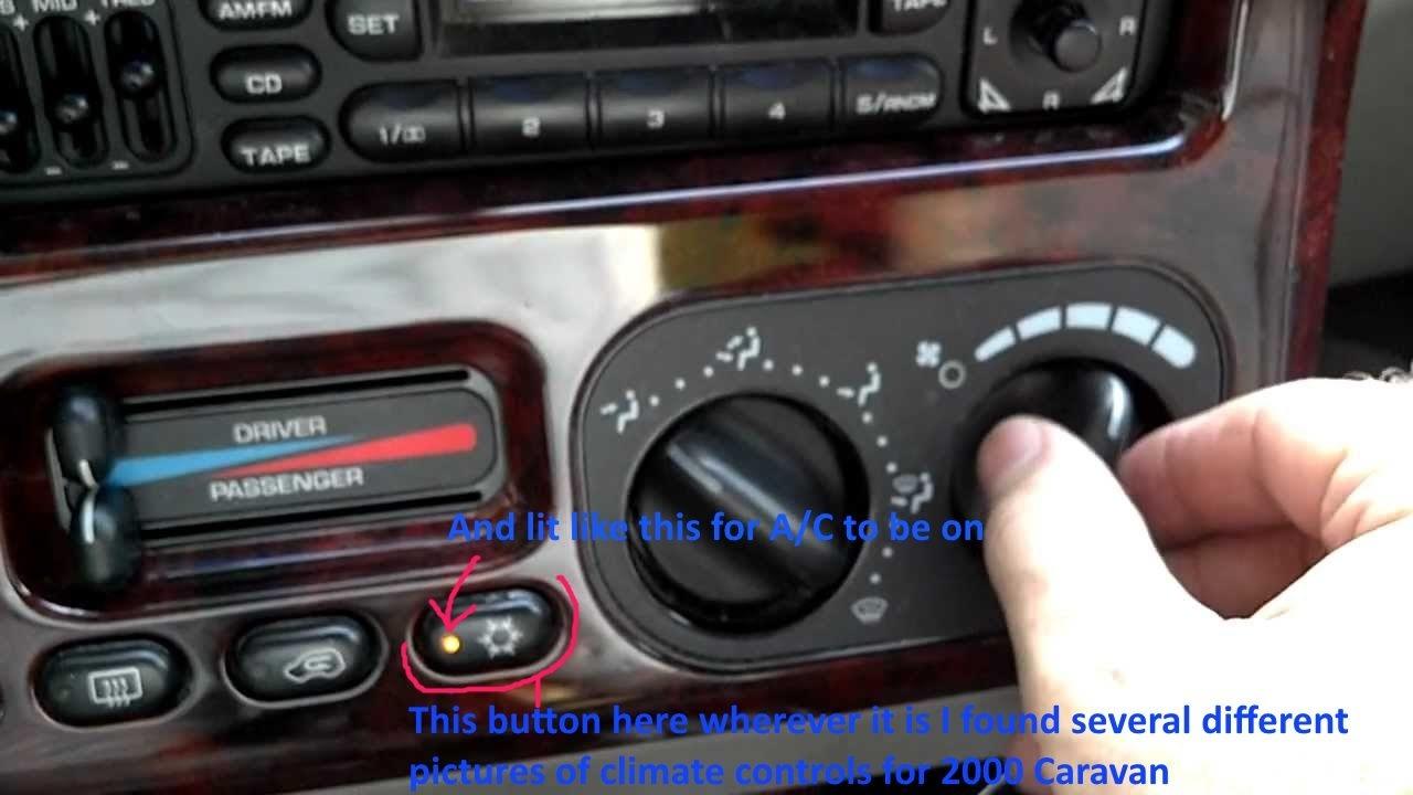 Dodge Caravan Questions 2000 Dodge Grand Caravan Sport