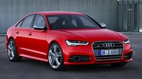 2016 Audi S6, Front-quarter view of the European model, exterior, manufacturer