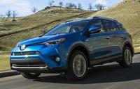 2016 Toyota RAV4 Hybrid, Front-quarter view, exterior, manufacturer, gallery_worthy