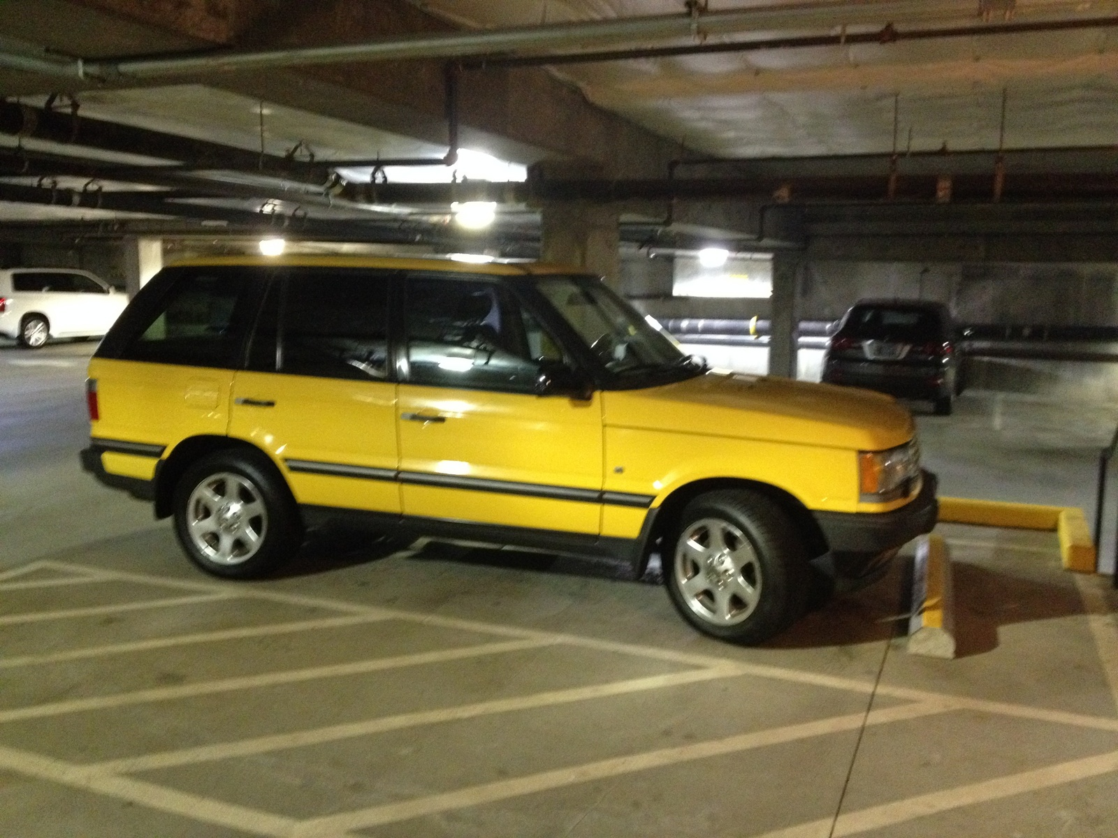 Land Rover Range Rover Questions 2002 Borrego Edtion How many