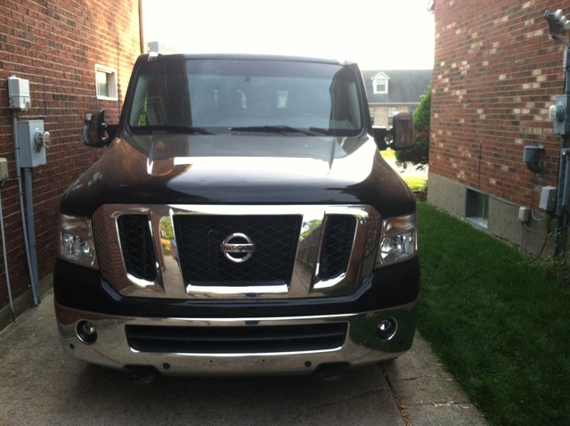 Picture of 2012 Nissan NV Passenger 3500 HD SL