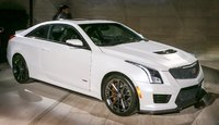 2016 Cadillac ATS-V Coupe, Front-quarter view. Copyright General Motors, exterior, manufacturer, gallery_worthy