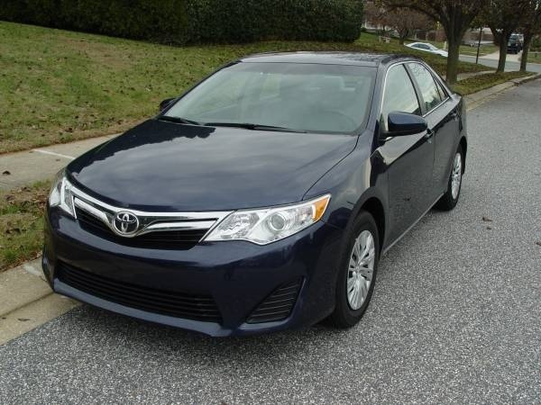 picture of 2014 toyota camry le exterior. Black Bedroom Furniture Sets. Home Design Ideas
