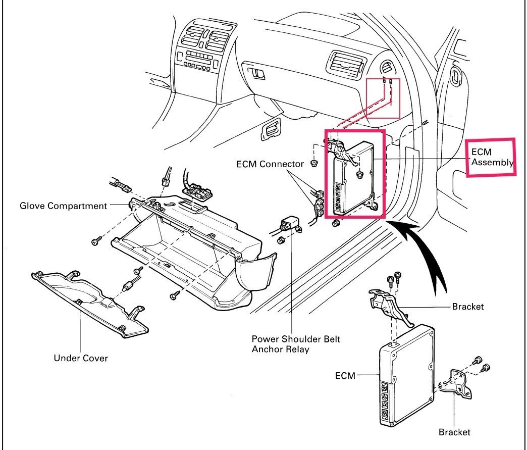 95 Camry Fuse Box Diagram Manual Of Wiring Toyota Lexus Sc 400 Questions Whare Is Ecu Located What It